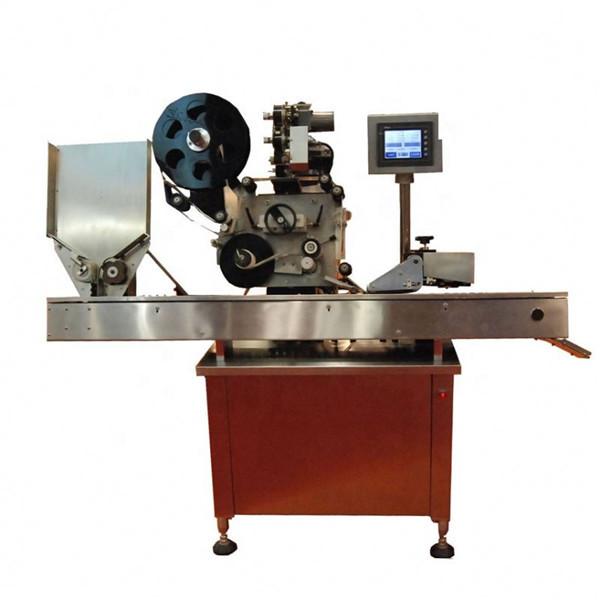 Kozmetik Rujları İçin 10-50ml Yuvarlak Şişe Flakon Etiketleme Makinesi