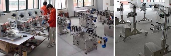 Penisilin Şişesi İçin Otomatik Ampul Etiket Etiketleme Makinesi / Etiketleme Makinesi