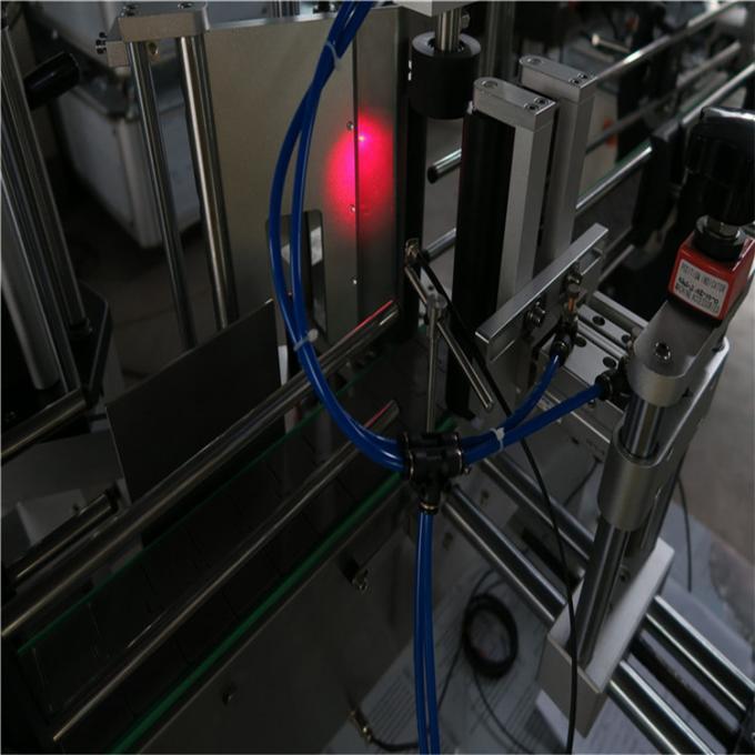 Şarap Şişesi Etiket Aplikatör Makinesi Yüksek Güçlü Servo Motor, Bira Şişesi Etiketleyici