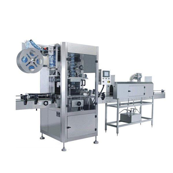 5.5 KW Bardaklar Shrink Sleeve Etiketleme Makinası