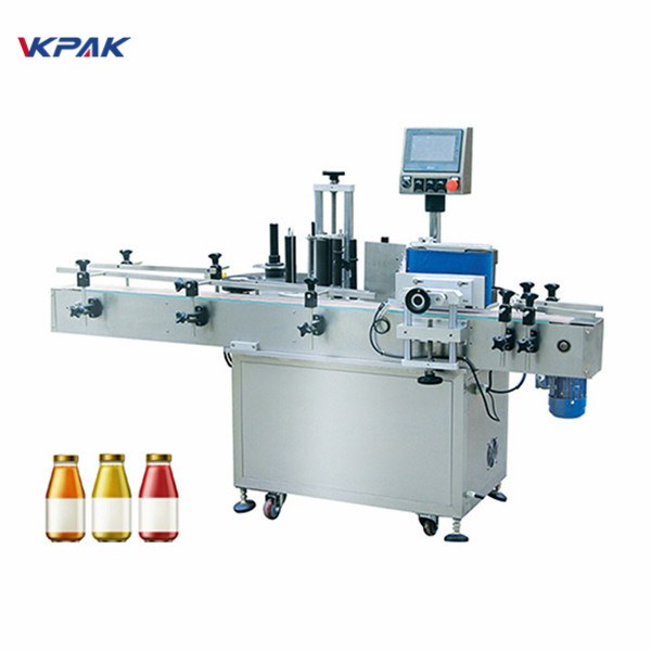 5L İçme Suyu Yuvarlak Şişe Etiket Etiketleme Makinesi