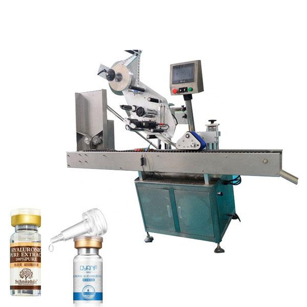 Yuvarlak Şişe İçin Alüminyum Alaşımlı Opp Flakon Endüstriyel Etiketleme Makinesi
