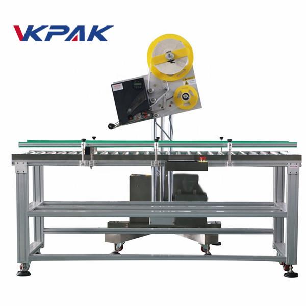 Küçük Ölçekli Üretim Kağıt Kutusu İçin Otomatik Zarf Endüstriyel Etiket Aplikatörü