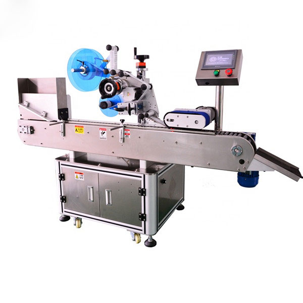 E Sıvı Şişe İçin Otomatik Şişe Etiketleme Makinesi Yüksek Standart