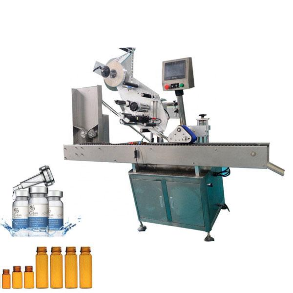 10ml Küçük Yuvarlak Şişe İçin Otomatik Sakız Flakon Etiketleme Makinesi