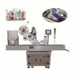Yuvarlak Şişe Etiketleme İçin Otomatik Sos Şişeleri Flakon Etiketleme Makinesi