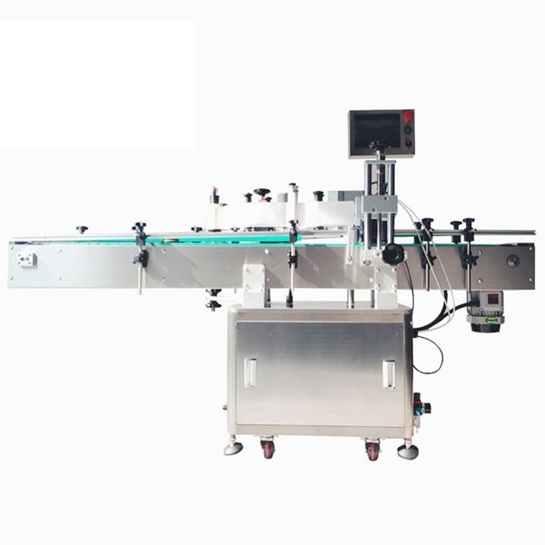 Pet Şişeler İçin Kozmetik Kendinden Yapışkanlı Otomatik Etiket Etiketleme Makinesi
