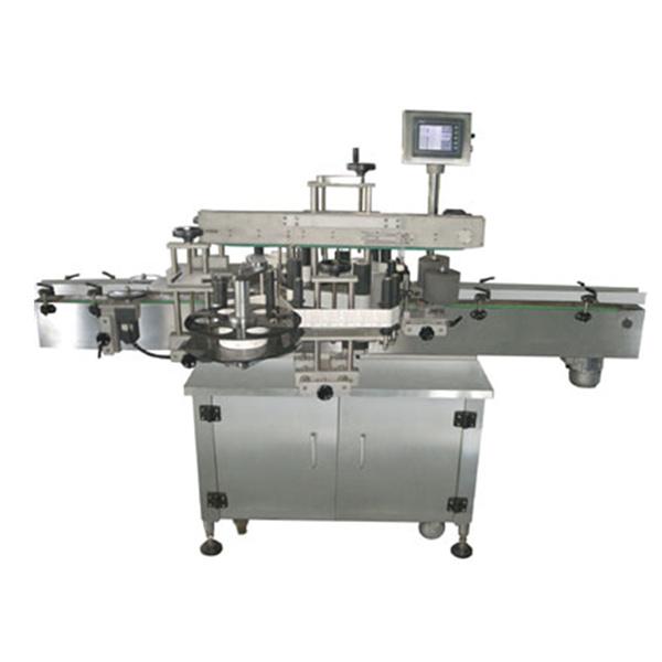 Çift Taraflı Otomatik Etiket Etiketleme Makinası