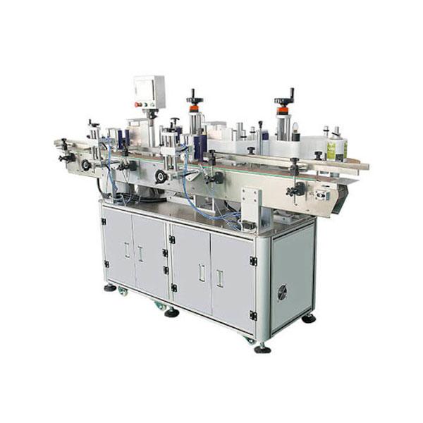 Deterjan Şişesi Çift Taraflı Etiket İçin Mükemmel Otomatik Etiketleme Makinesi