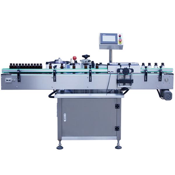 Cam Şişe Kendinden Yapışkanlı Etiket Etiketleme Makinesi, Cam Kavanoz Etiketleme Makinesi
