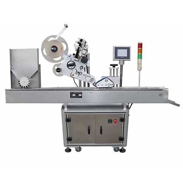 İlaç Endüstrisi İçin Yüksek Hassas Flakon Etiket Etiketleme Makinesi