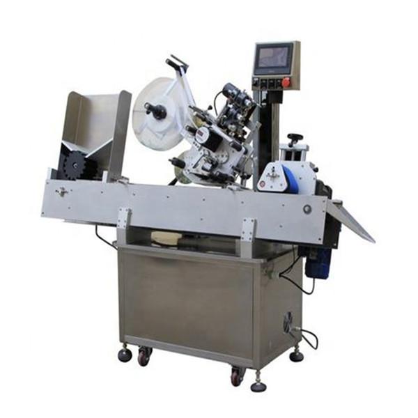 Yüksek Verimli Kozmetik Flakon Etiketleme Makinesi
