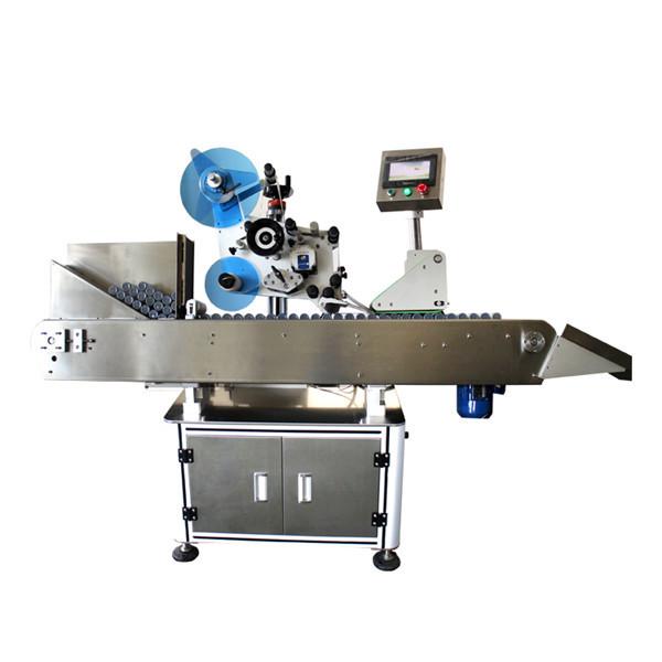 Yüksek Hızlı Endüstriyel Şişe Flakon Etiket Etiketleme Makinesi