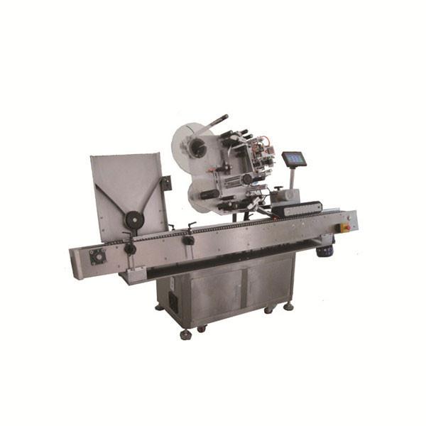 Yüksek Hızlı Sus304 Ekonomi Otomatik Yuvarlak Flakon Flakon Etiketleme Makinesi
