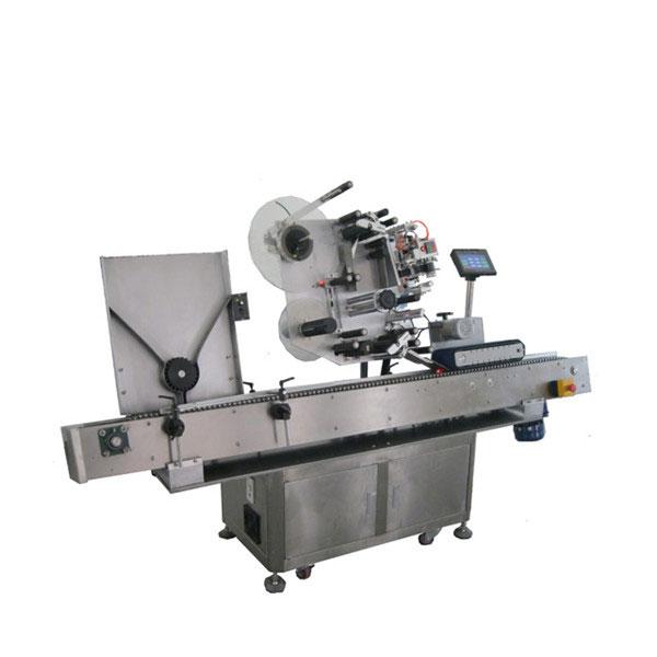 Yüksek Hızlı Sus304 Ekonomi Otomatik Alkolsüz İçecek Şişeleri Flakon Etiketleme Makinesi
