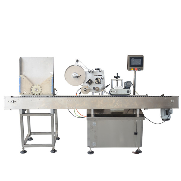 Yüksek Hızlı Flakon Etiketleme Makinesi Küçük Şişe Etiketleme Makinesi