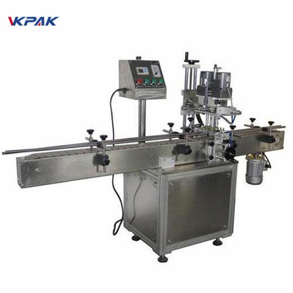 Kozmetik Ürünleri İçin Endüstriyel Çift Taraflı Yuvarlak Şişe Etiketleme Makinesi