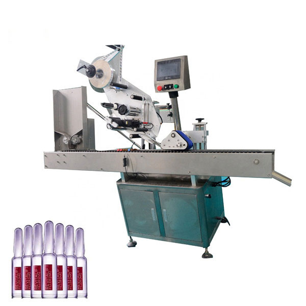 Akıllı Kontrol Sus304 Ekonomi Otomatik Kozmetik Flakon Etiketleme Makinesi