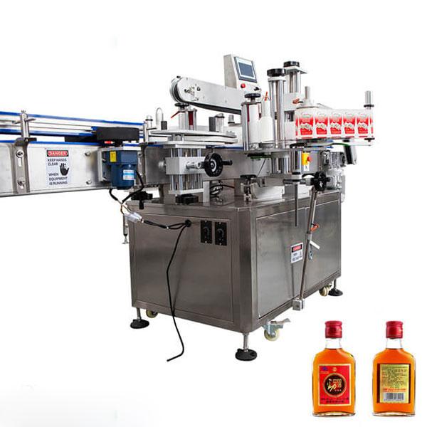 Bardak ve Yuvarlak Şişeler İçin Etiketleme Makinesi Tam Otomatik Stick