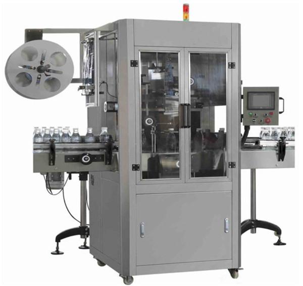 Yuvarlak Şişe İçin Maden Suyu PET Shrink Sleeve Etiketleme Makinesi