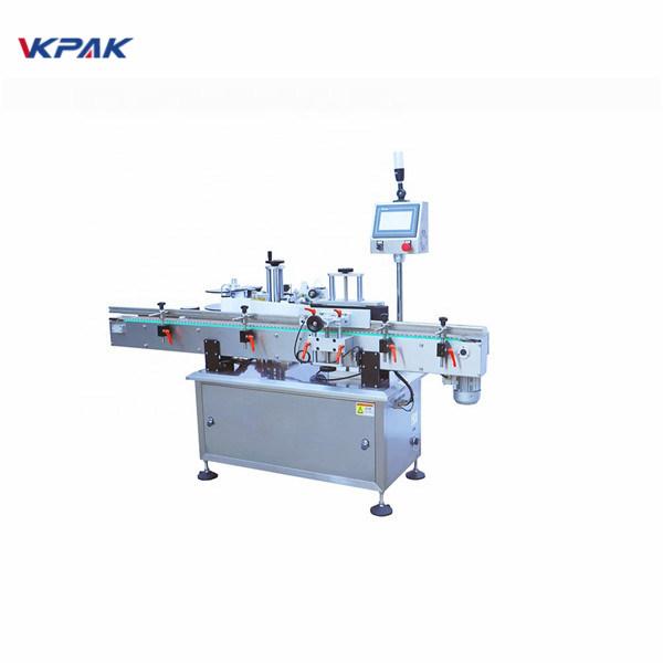 Ambalaj Yuvarlak Şişe Etiketleme Makinesi Fabrika Fiyatı