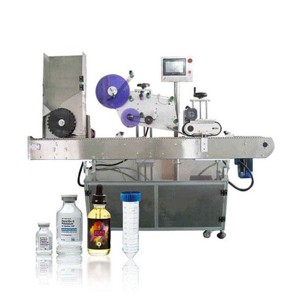 Siemens Plc Flakon Servo Kontrol Cihazı Otomatik Yatay Etiketleme Makinesi
