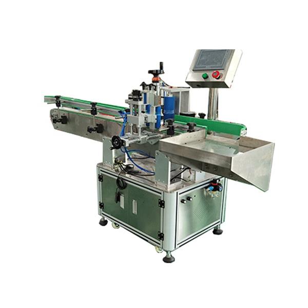 Kare ve Yuvarlak Şişeler Otomatik Etiketleme Makinesi