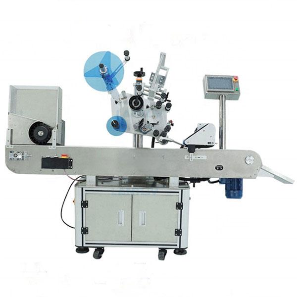 Oral Sıvı Şişeler İçin Flakon Endüstriyel Etiketleme Makinesi