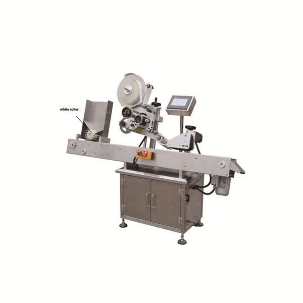Ampul Şişesi için Toplama Çalışma Tezgahı ile Flakon Etiketleme Makinesi
