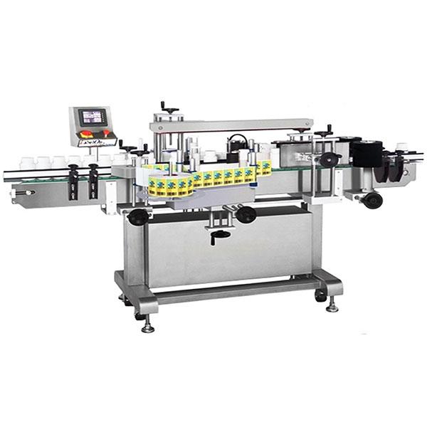 Şarap Şişesi Etiketleme Makinesi Çift Taraflı