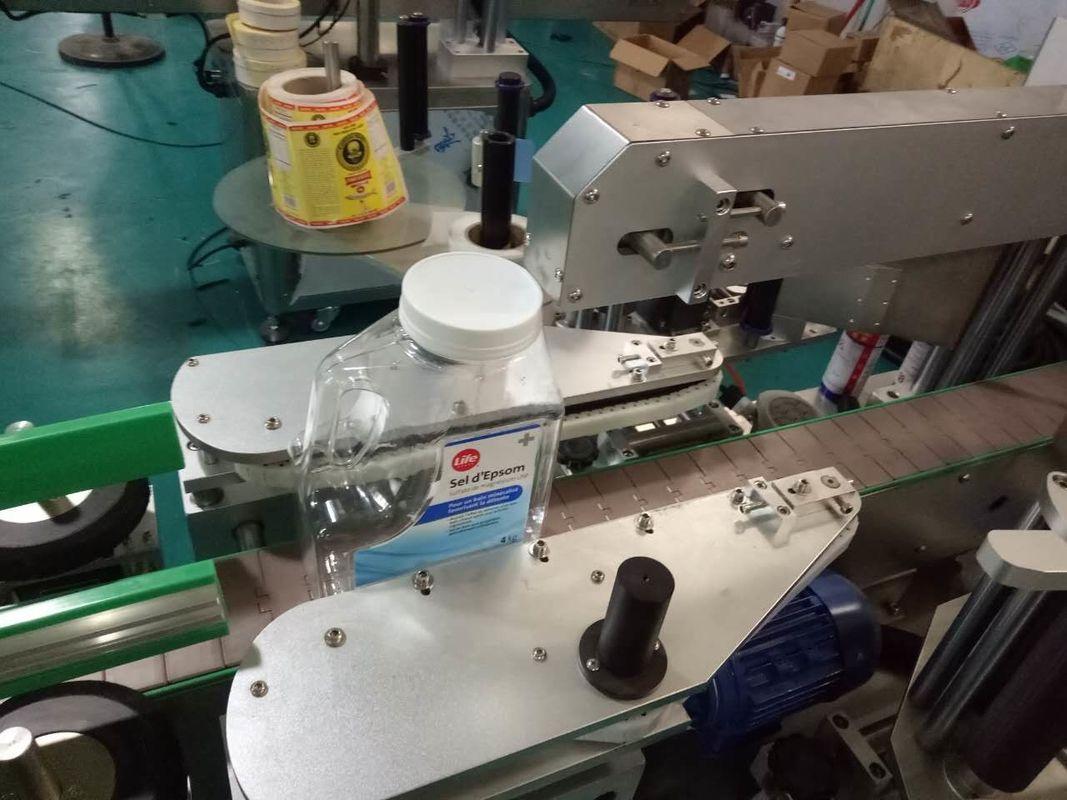 Kişisel Bakım Ürünleri İçin İki Taraflı Kare Şişe Etiket Etiketleme Makinesi