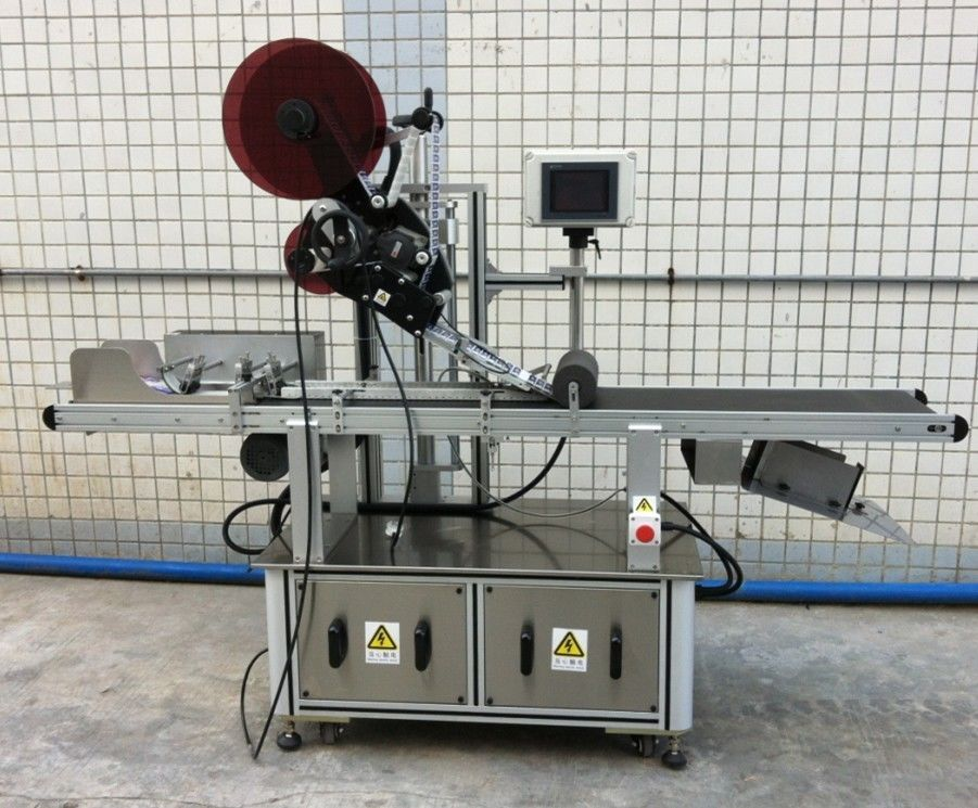 Maske / Yayılmamış Karton / Kağıt Torbalar İçin Üst Etiketleme Makinesi
