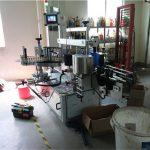 Plastik / Cam Şişe Çift Taraflı Etiketleme Makinesi, Kare Şişe Etiketleme Makinesi