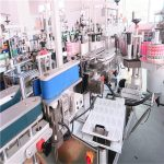 CE Kare Şişe Etiketleme Makinesi Otomatik Etiket Aplikatörü 5000-8000 B / H