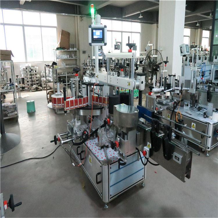 Kozmetik / İçecekler İçin Düz Şişe Yüksek Hızlı Etiketleme Makinesi İki Tarafı