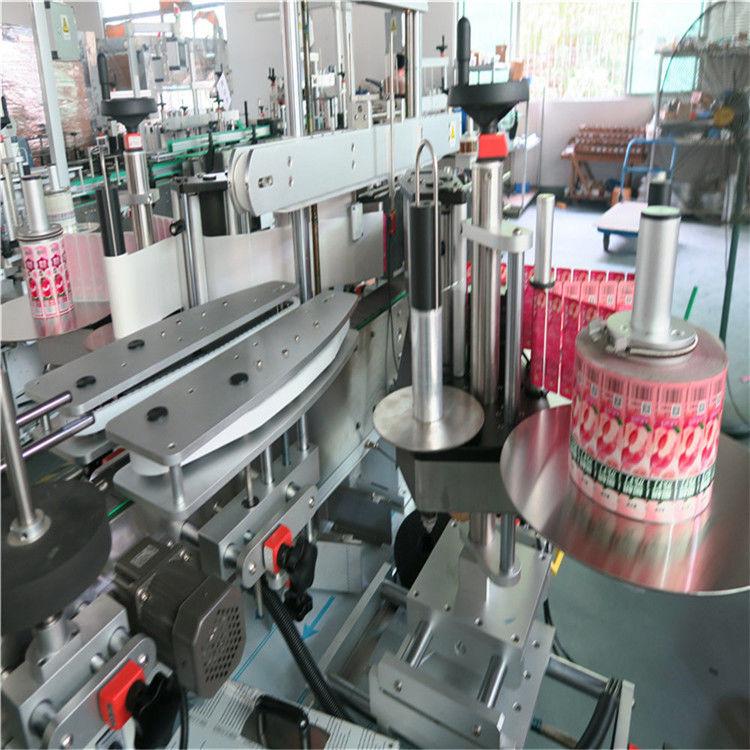 Ön Arka Otomatik Etiket Etiketleme Makinesi Kendinden Yapışkanlı 330mm Maksimum Dış Çap