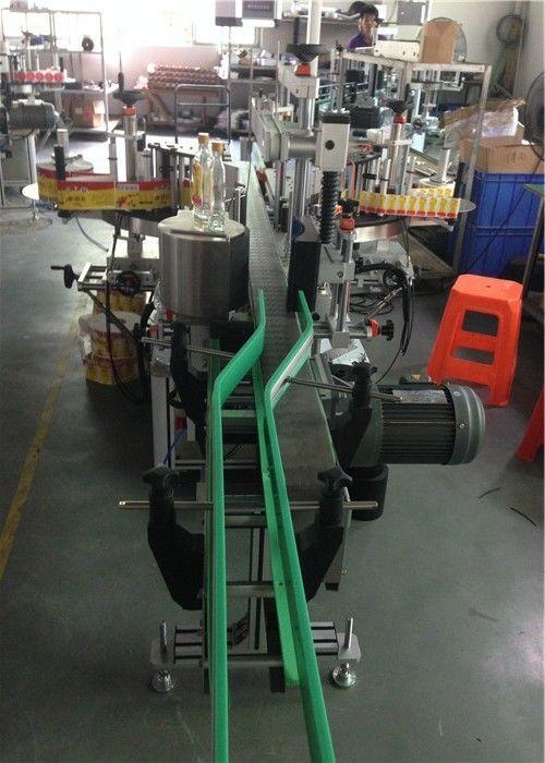 CE Etiket Etiket Aplikatörü, Şarap Şişesi Etiketleme Makinesi Servo Motorları Sürüş