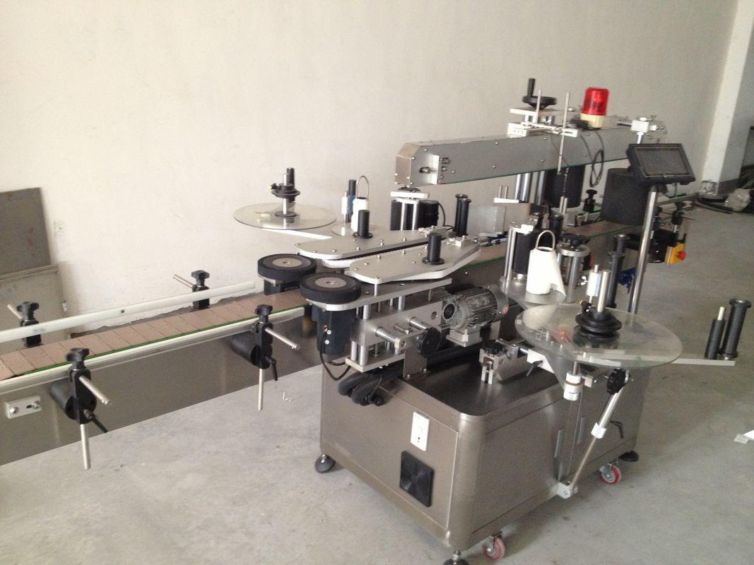 Otomatik Bira Şişesi Çift Taraflı Etiket Etiketleme Makinesi