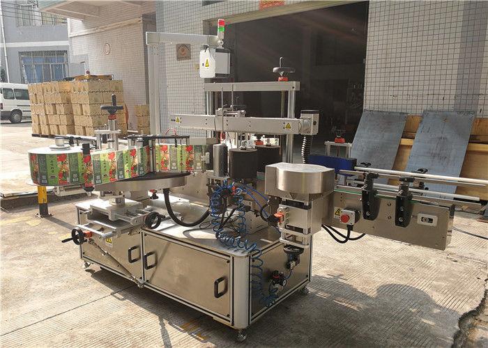 Düz Şişe Etiketleme Makinesi 3048mm x 1700mm x 1600mm