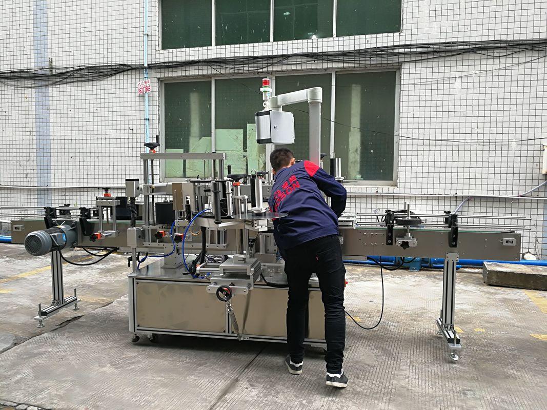 Cam / PET Şişe İçin Tam Otomatik Su Şişesi Etiketleme Makinesi