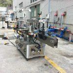 Maden Suyu Yuvarlak Kare Koni İçin Yapışkanlı Etiket Aplikatör Makinesi