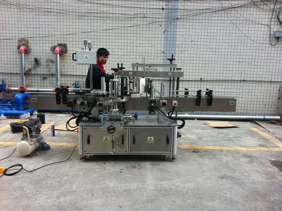 Pet Şişeler İçin Tam Otomatik Yapışkanlı Yuvarlak Şişe Etiketleme Makinesi