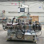 Yüksek Hassas Otomatik Etiket Çift Taraflı Düz Şişe Etiketleme Makinesi