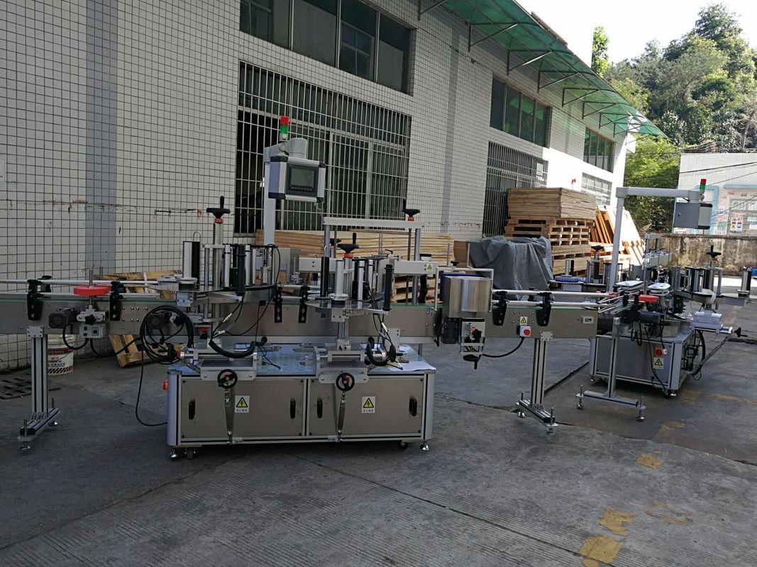 Düz / Kare Şişe Etiket Etiketleme Makinesi Tam Otomatik 5000-8000B / H Kapasite
